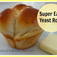 Easy Yeast Rolls- The Ones Like Grandma Used to Make