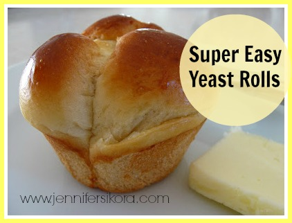 Easy Pull Apart Yeast Rolls