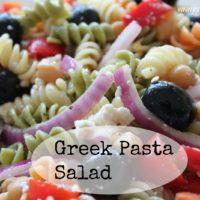 Greek Pasta Salad - Another SRC Recipe