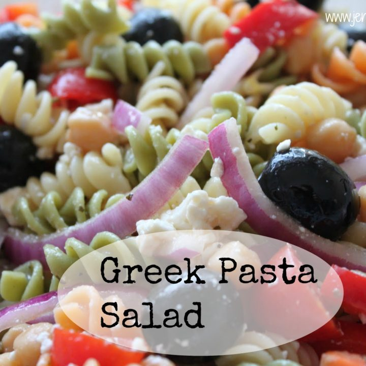 Greek Pasta Salad - Another SRC Recipe