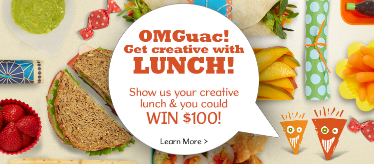 One Lunch, 2 Ways – OMGuac Your Lunch to Win from Wholly Guacamole