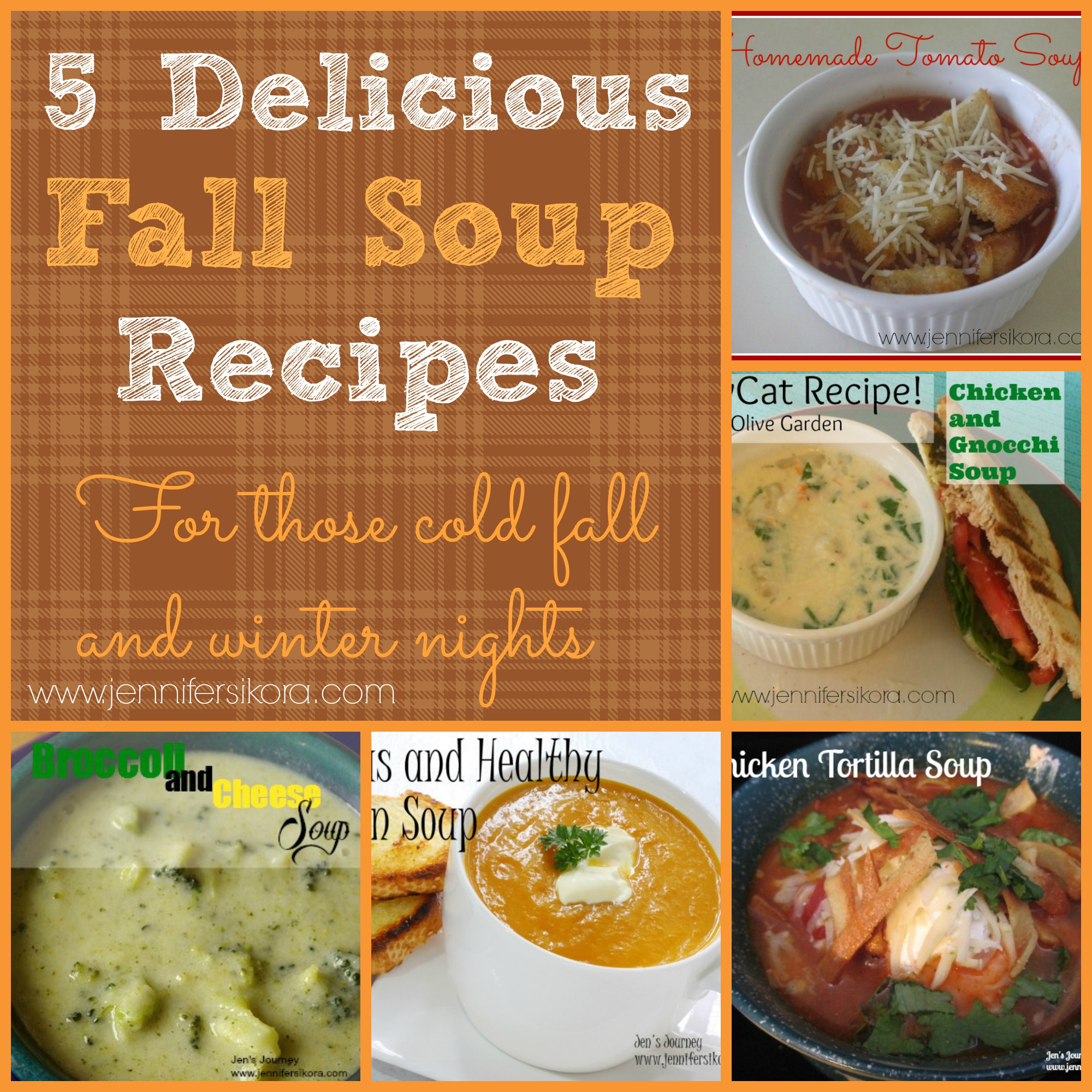 5 Delicious Fall Soup Recipes for Those Cold Nights - Jen Around the ...