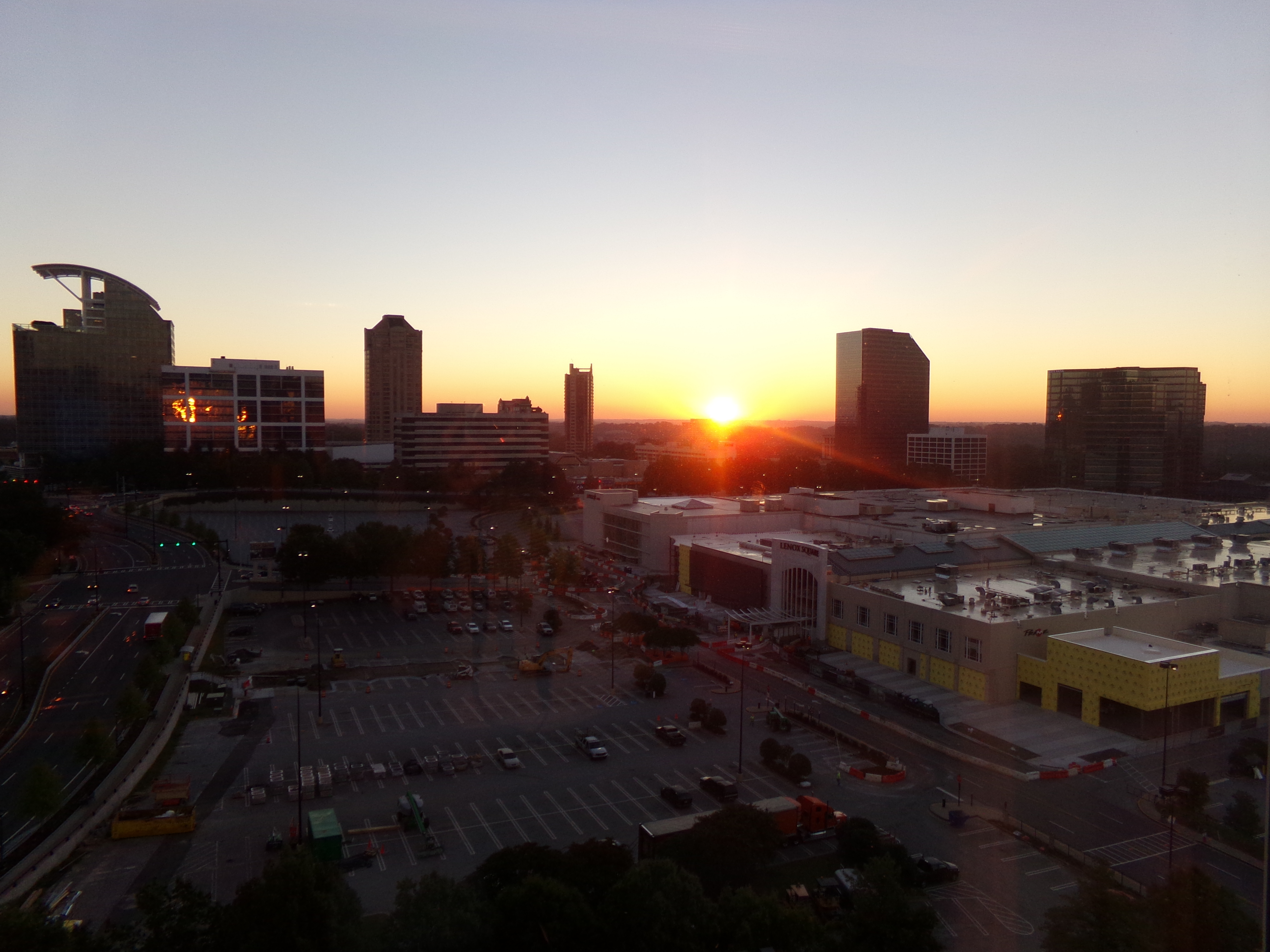 10 Things I Learned at Type-A and a Gorgeous Atlanta Sunrise