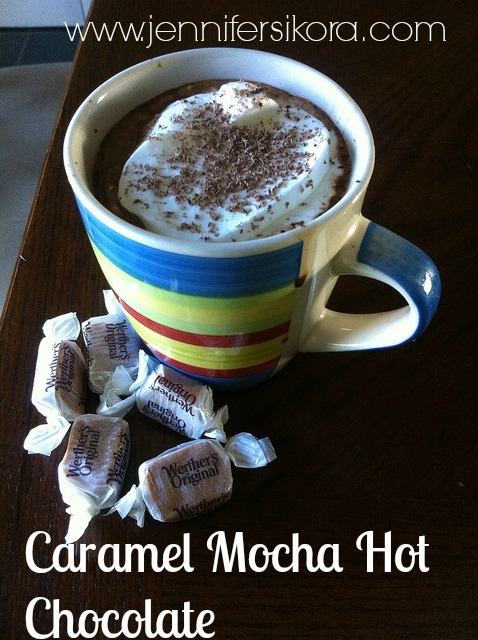 Caramel Mocha Hot Chocolate