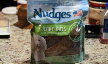 Nudges® Wholesome Dog Treats for Your Fur Baby – Made in the USA! #NudgeThemBack