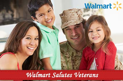 "Walmart's ""Holiday Salute to Military Families through Operation Homefront"