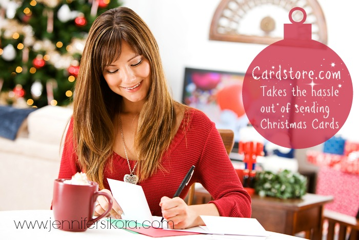 Cardstore.com Takes the Hassle out of Mailing Christmas Cards #MC #topofthemantel