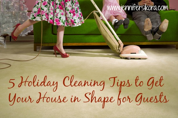 5 Holiday Cleaning Tips to Get Your House in Shape for Guests #steamboost #ad
