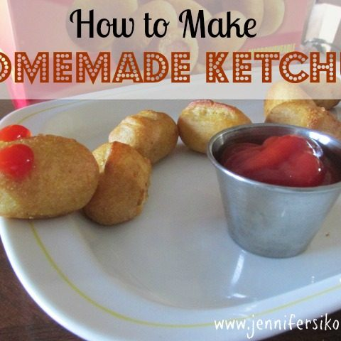 How to Get Creative with Your Child's Lunch + My Recipe for Homemade Ketchup #GetCorny #Cbias #Shop