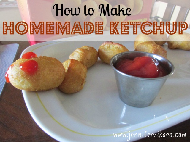 Homemade Ketchup #GetCorny #Cbias #Shop
