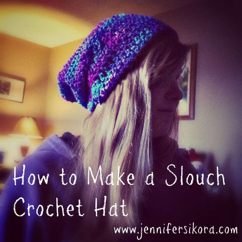 How to Make a Slouch Crochet Hat