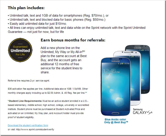 Sprint Student My Way Plan #aPlusPlan #shop #cbias