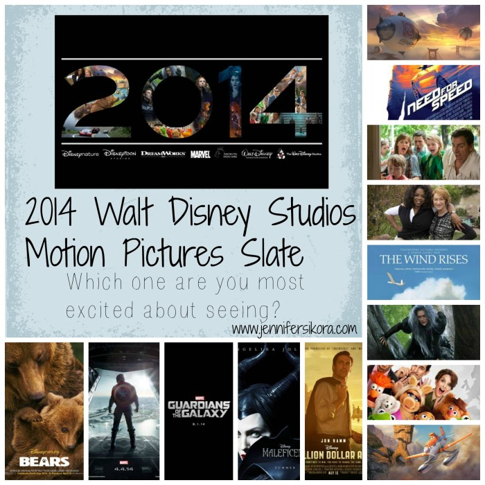 2014 Disney Motion Picture Slate