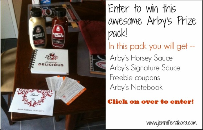Arby's Giveaway