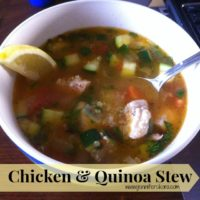 Chicken and Quinoa Stew