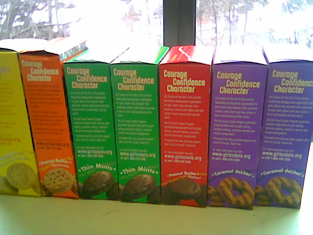 It's National Girl Scout Cookie Weekend- Which Box are You Buying? #CookieBoss