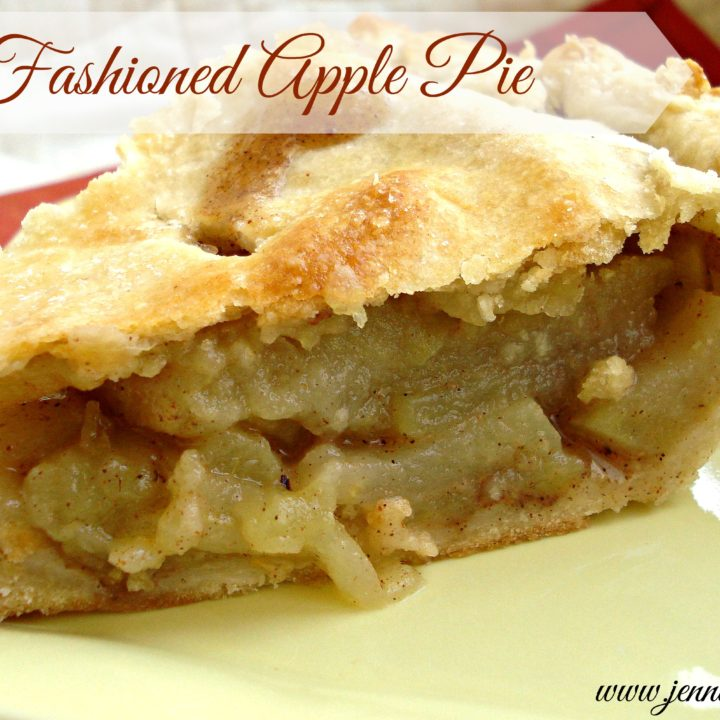 National Pie Day- Old Fashioned Apple Pie