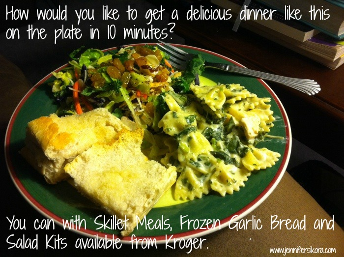 a very delicious and easy weeknight meal thanks to Kroger #bzzagent