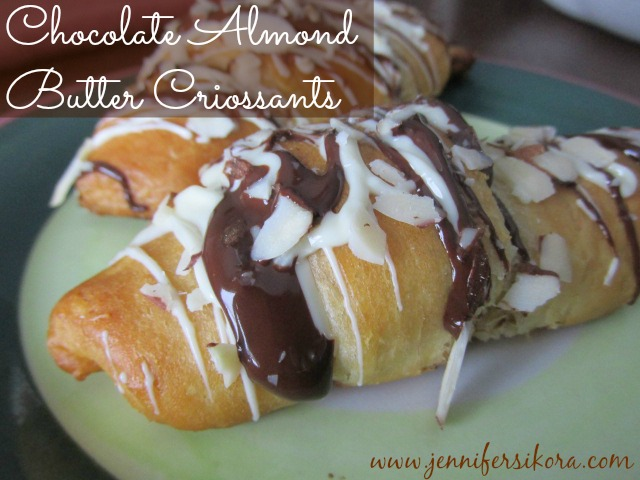 Chocolate Almond Butter Croissants