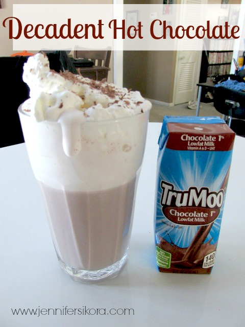 Decadent Hot Chocolate #TruMoo