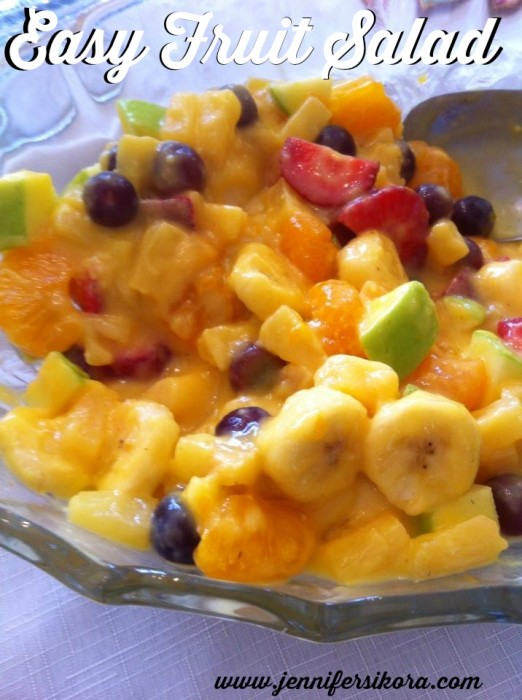 Easy Fruit Salad #15minutesuppers