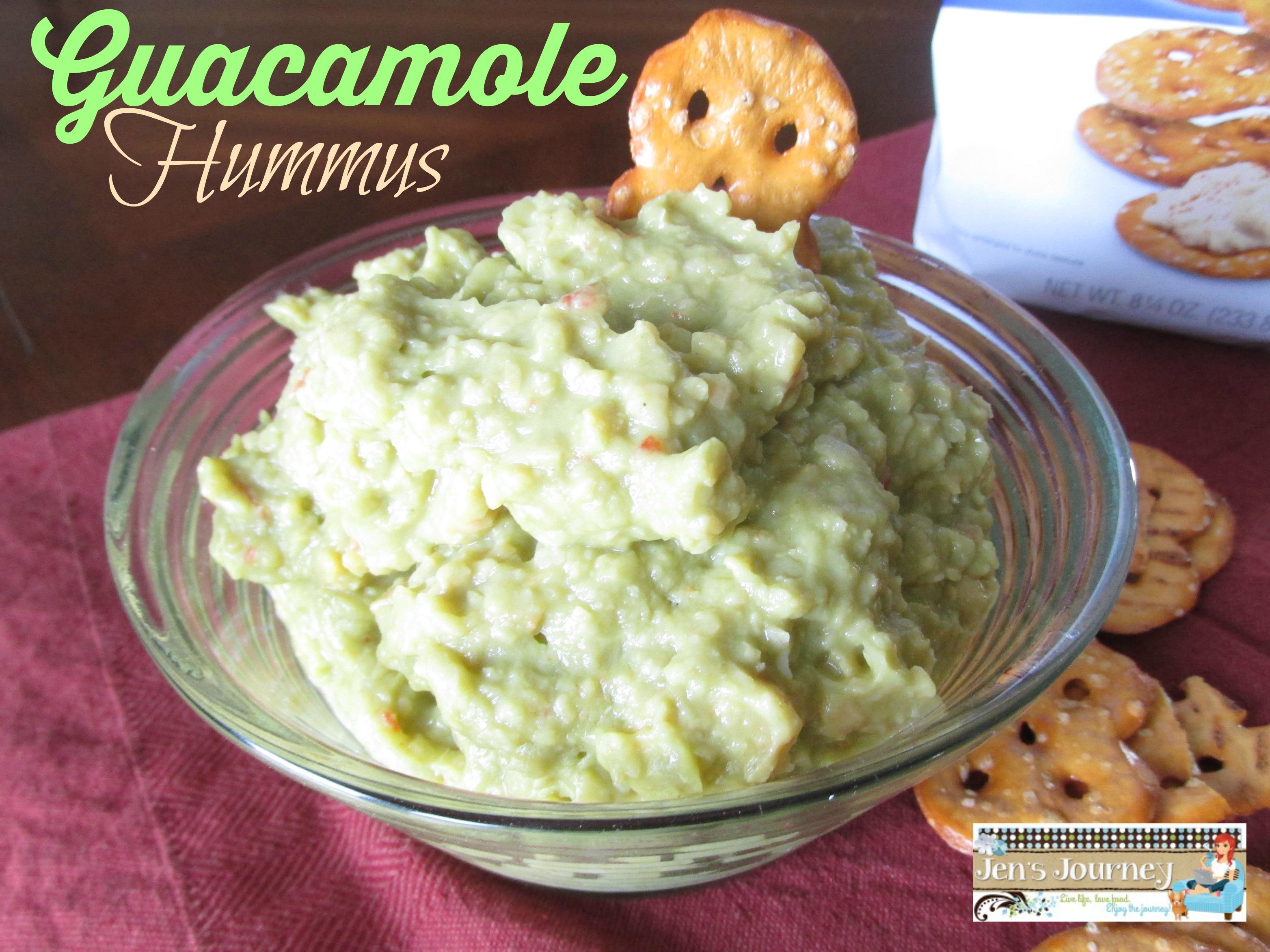 Guacamole Hummus - Jen's JourneyJen's Journey
