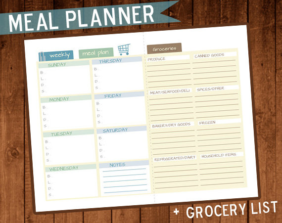Meal and Menu Planning Freebies from HP