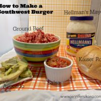 Southwest Burger + 3 Things You Can Do to Make a Juicy and Delicious Burger #Burgervention