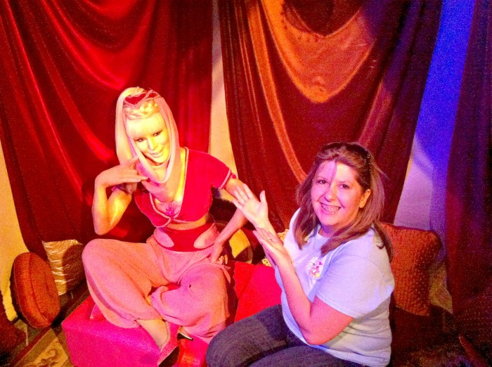 I Dream of Jeannie in the Wax Museum Branson