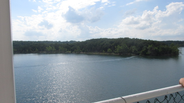 Table Rock Lake on Showboat Branson Belle