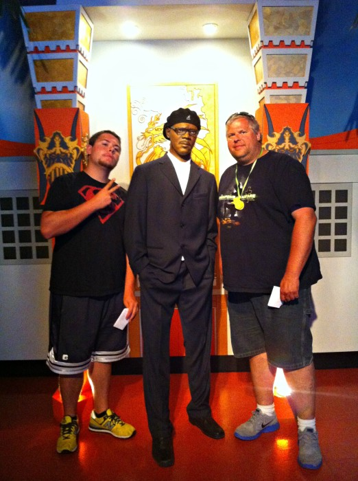 Samuel L Jackson at Hollywood Wax Museum #ExploreBranson