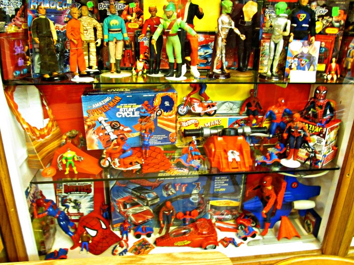 Spiderman at the Toy Museum