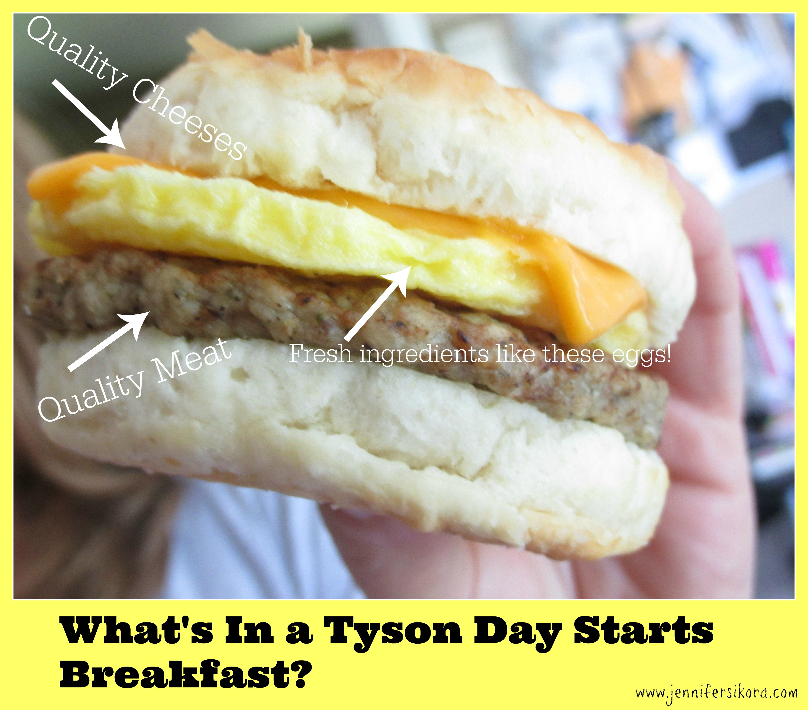 #Ad Quick Breakfast Ideas for the Blogger on the Go #StartWithTyson #Cbias