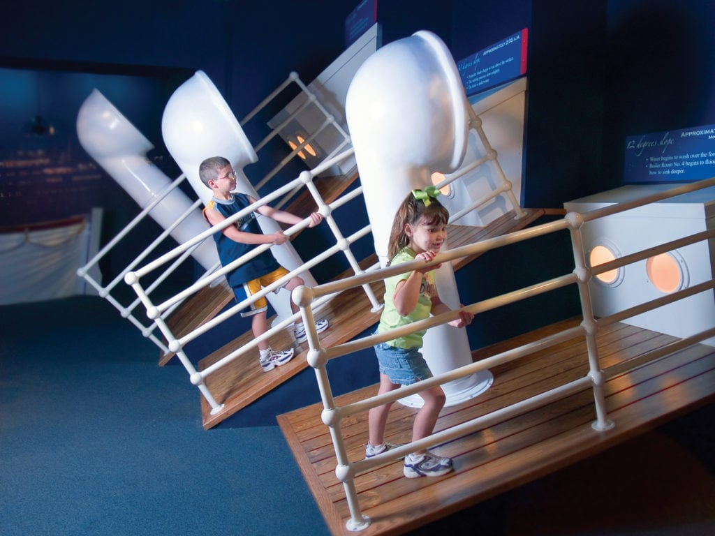 interactive decks on titanic