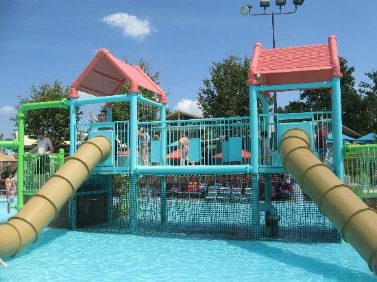 white-water Kids area #exploreBranson