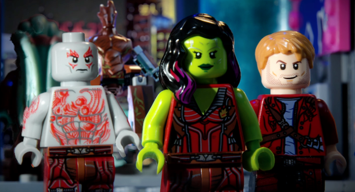 Guardians of the Galaxy lego