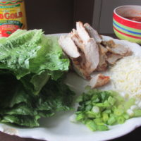 Mexican Grilled Chicken Lettuce Wraps - Grilling with Red Gold Tomatoes