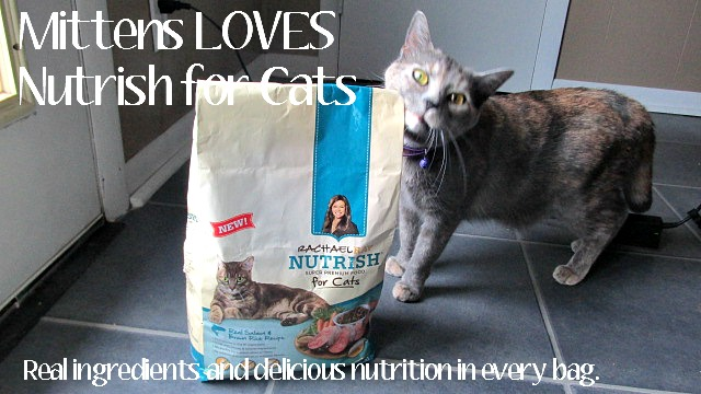 Mittens loves her Nutrish for Cats Cat Food