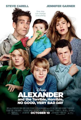 ALEXANDER AND THE TERRIBLE, HORRIBLE, NO GOOD, VERY BAD DAY 1