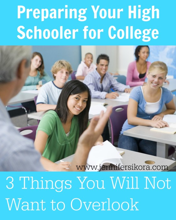 How to Prepare your High Schooler for College