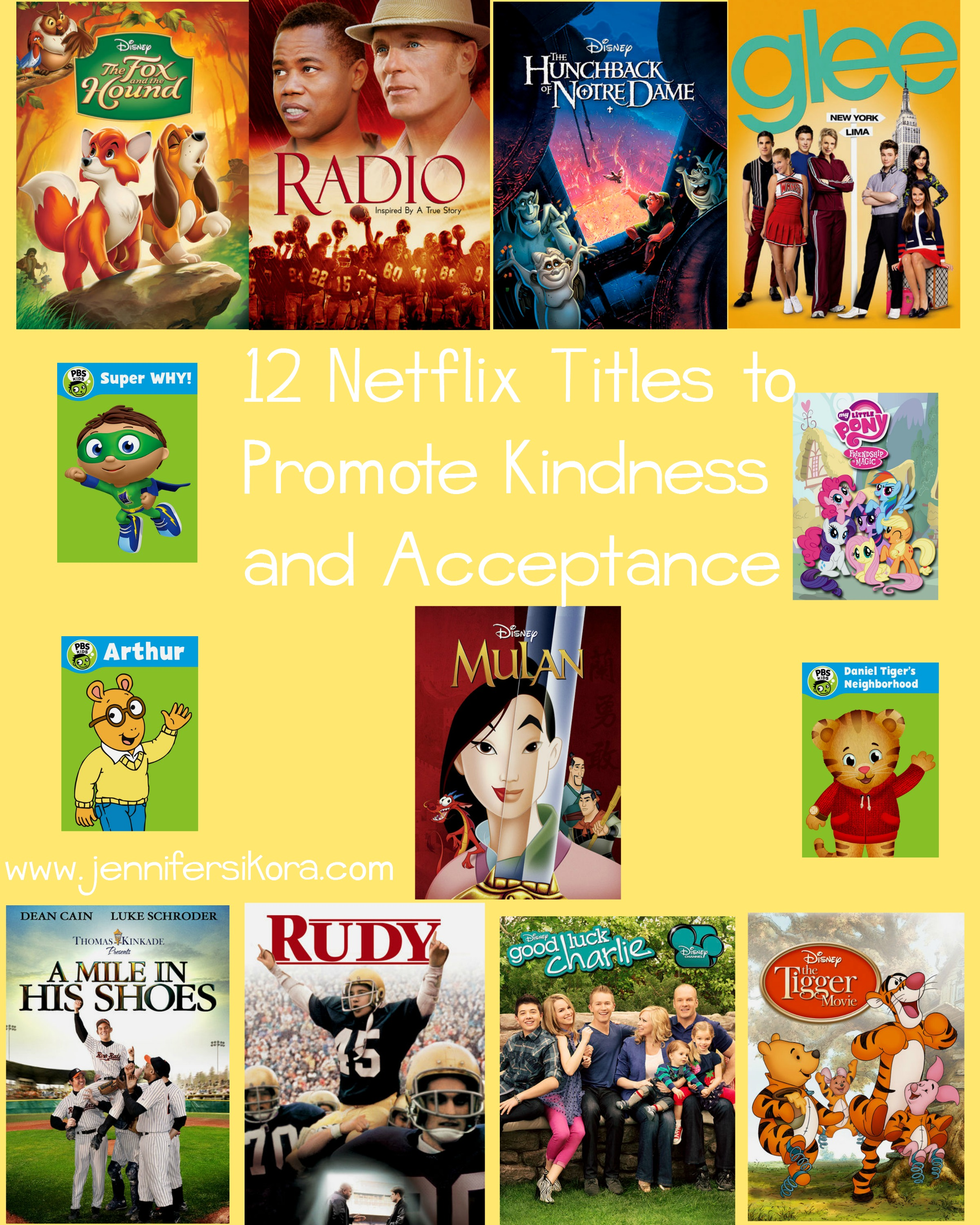 12 Netflix Titles to Promote Kindness and Acceptance