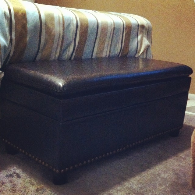 Ottoman from brylane Home