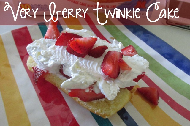 Very Berry Twinkie Cake