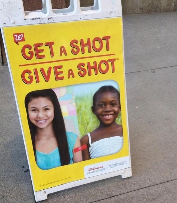 Get a shot give a shot