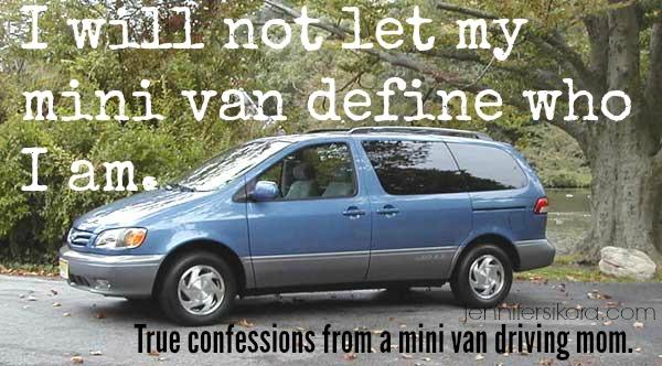 My Mini Van Does Not Define Me