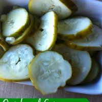 Quick and Easy Refrigerator Dill Pickles
