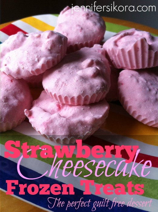 Strawberry Cheesecake Frozen Treats