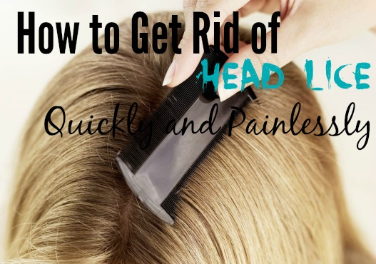 how to take out lice
