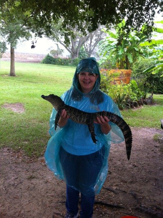 Jennifer at Alligator Alley