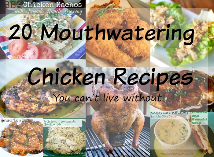 Mouthwatering Chicken recipes